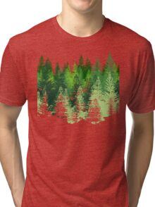 the forest Tri-blend T-Shirt