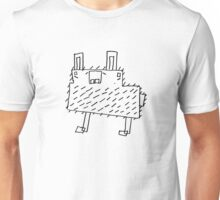 Block Rabbit - A Cartoon House Product Unisex T-Shirt