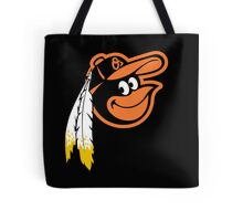Redskins Orioles Tote Bag