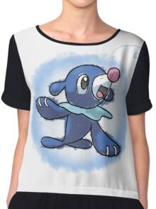 Popplio - Pokemon sun and moon starter Chiffon Top