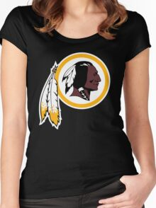 Redskins Orioles Women's Fitted Scoop T-Shirt