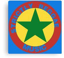 Strictly Reggae Music Canvas Print
