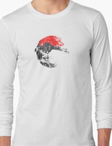 Pokeball Death Star Long Sleeve T-Shirt