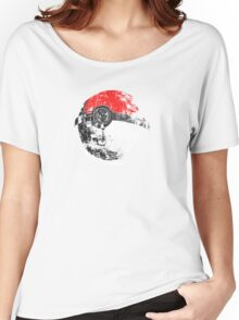 Pokeball Death Star Women's Relaxed Fit T-Shirt
