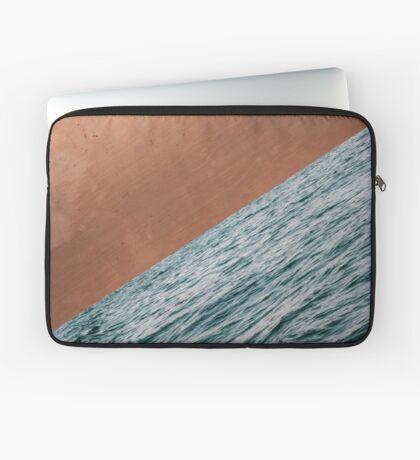 Ocean + Copper #redbubble #lifestyle Laptop Sleeve