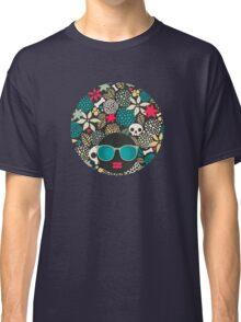 Skulls and flowers. (2) Classic T-Shirt