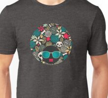 Skulls and flowers. (2) Unisex T-Shirt