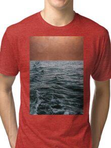 Ocean + Copper #redbubble #lifestyle Tri-blend T-Shirt