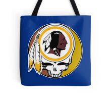 Redskins Grateful Dead Tote Bag