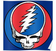 Redskins Grateful Dead Poster