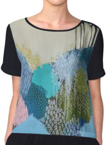 Into the Distance Chiffon Top