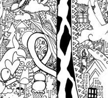 giraffe dream (v.2) Sticker