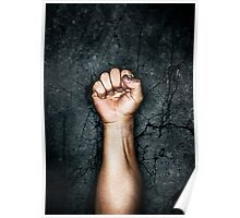 Protest fist Poster