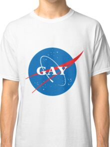 space gay Classic T-Shirt