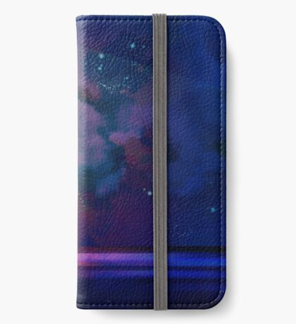 Night sea [watercolor] iPhone Wallet/Case/Skin