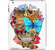 You have no idea iPad Case/Skin