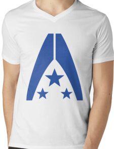 Systems Alliance Mens V-Neck T-Shirt