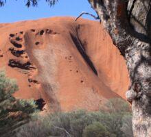 Uluru through the trees Sticker