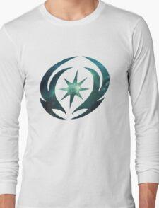 Vallite Emblem Galaxy Long Sleeve T-Shirt