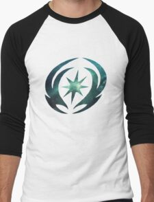Vallite Emblem Galaxy Men's Baseball ¾ T-Shirt