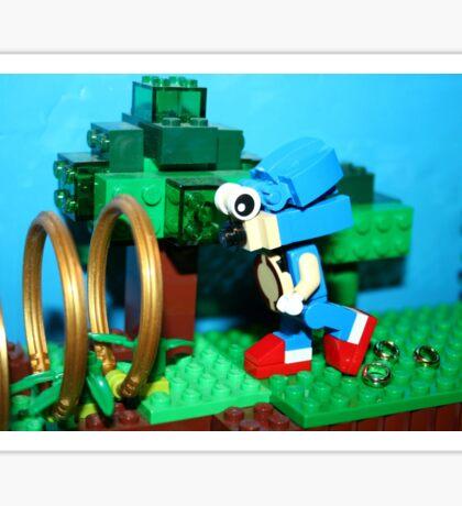 Lego Gotta Go Fast Sticker