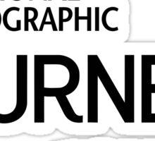 national geographic Sticker