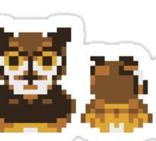 Owl Family Photo Sticker