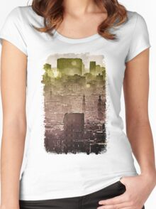 Sunset over Cairo II Women's Fitted Scoop T-Shirt
