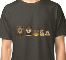 Owl Family Photo Classic T-Shirt