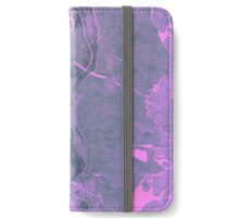 Grey and Pink Marble iPhone Wallet/Case/Skin