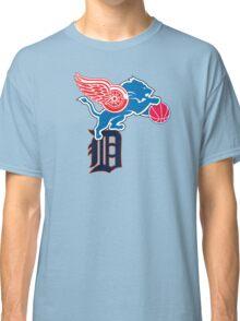 Detroit Sports Love Classic T-Shirt
