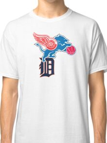 Detroit Sports Love Classic T-Shirt