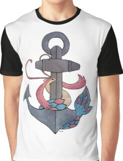 Milotic & Anchor Graphic T-Shirt