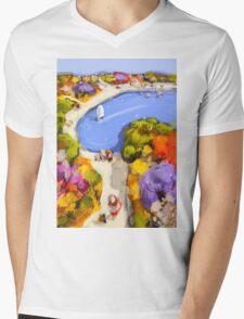 Sailing by Mens V-Neck T-Shirt