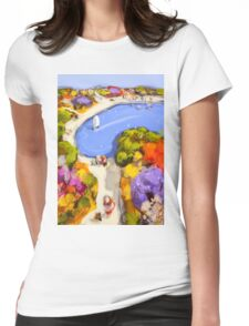 Sailing by Womens Fitted T-Shirt