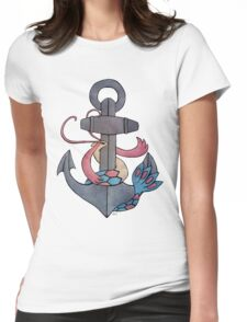 Milotic & Anchor Womens Fitted T-Shirt