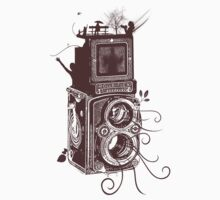 Retro Rolleiflex - Evolution of Photography - Vintage #2 Baby Tee
