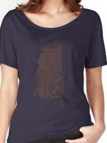 Retro Rolleiflex - Evolution of Photography - Vintage #2 Women's Relaxed Fit T-Shirt