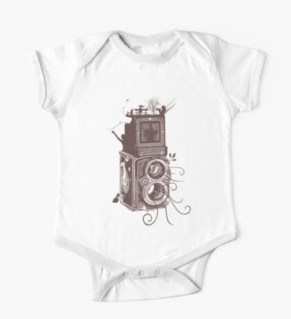 Retro Rolleiflex - Evolution of Photography - Vintage #2 One Piece - Short Sleeve