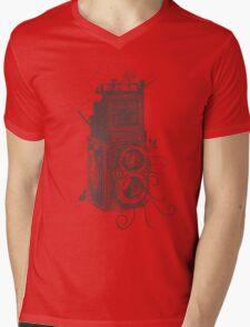Retro Rolleiflex - Evolution of Photography - Vintage #2 Mens V-Neck T-Shirt