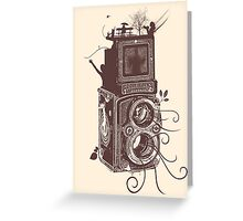 Retro Rolleiflex - Evolution of Photography - Vintage #2 Greeting Card