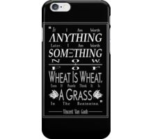 """""""For Wheat is Wheat"""" in White iPhone Case/Skin"""