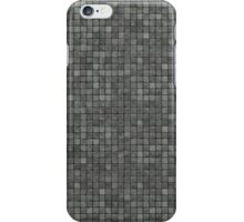 tiled gray stone mosaic wall floor iPhone Case/Skin