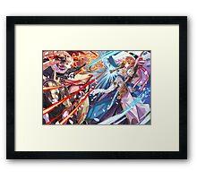 Fire Emblem Fates - Elise & Sakura Framed Print