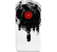 Melting Vinyl Records Vintage iPhone Case/Skin