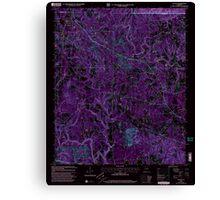 USGS TOPO Map Alabama AL Nauvoo 304652 2000 24000 Inverted Canvas Print