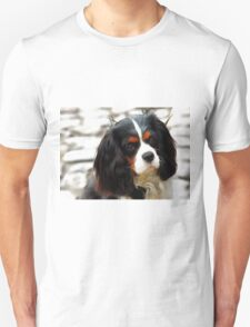 Portrait Of A King Charles Cavalier Spaniel Unisex T-Shirt