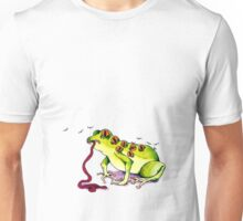 The all-seeing flaccid falling frog Unisex T-Shirt