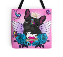 Frenchie Tattoo 3 Tote Bag