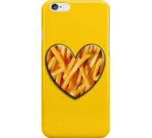 french fries lover iPhone Case/Skin